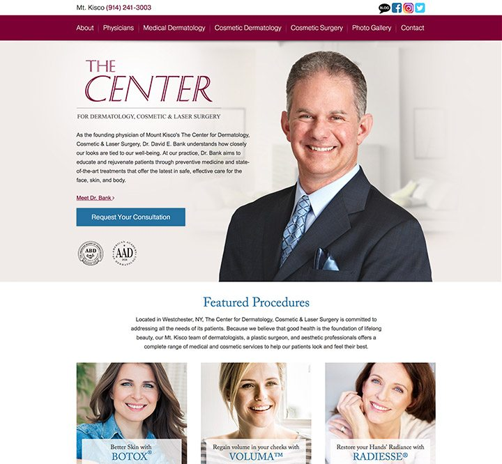 The Center for Dermatology, Cosmetic & Laser Surgery