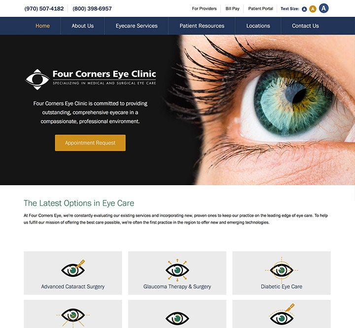 Four Corners Eye Clinic