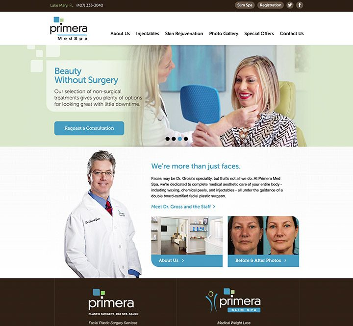 Medical Spa Marketing, Website Design & SEO | Etna Interactive